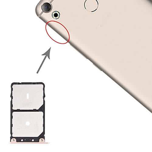un known Teléfono móvil reemplazable Tarjeta SIM Bandeja de Tarjeta SIM para TENCO CAMON CX C10 Accesorio Partes de máquina (Color : Gold)