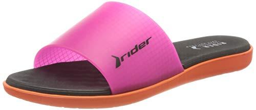 Rider Damen Wave Fem Pantoletten, Mehrfarbig (orange/pink 9288.0), 39 EU