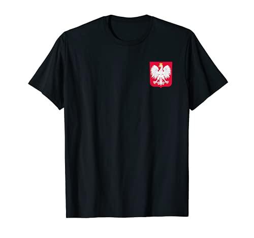 Polen Trikot Polska Wappen mit polnischer Flagge /Adler T-Shirt
