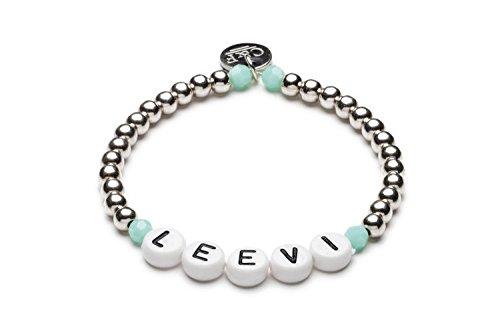 Namensarmband • LEEVI • 4mm • Silber