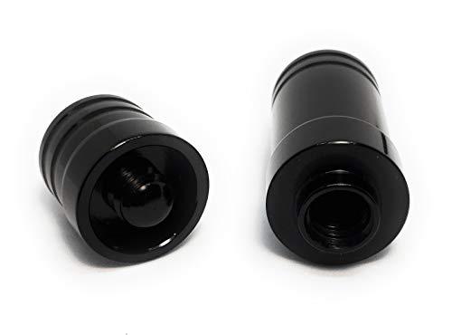 Aluminum Alloy Joint Protector Caps for Billiard Pool Cue Sticks (UniLoc)