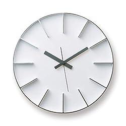 Lemnos edge clock white AZ-0115 WH
