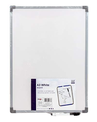 La lavagna bianca Design Group A3 – perfetta per piccoli uffici.