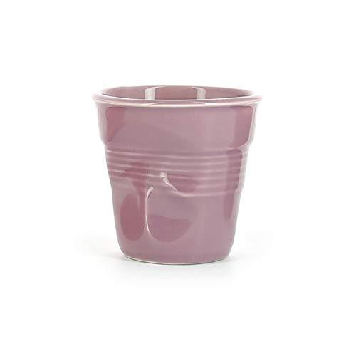 Revol - Tasse cappuccino unie en porcelaine Couleur - Myrtille, Tailles - H. 8,5 x Ø 8,5 cm - 18 cl