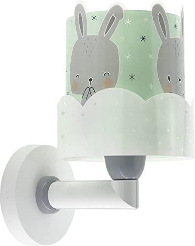 Dalber Aplique Infantil De Pared Baby Bunny Conejito Verde