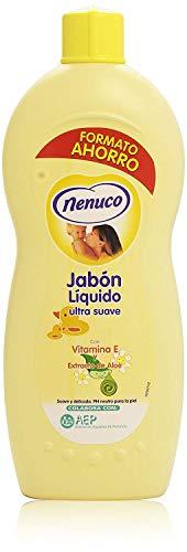 Nenuco Jabon Líquido Ultra Suave con extracto de Aloe 1125ml
