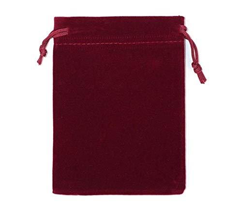 Pequeña bolsa para joyas, regalo, bolsa de terciopelo, bolso, estuche, 5 x 7 cm, bolsa de organza