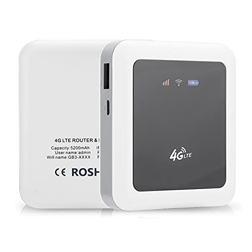 PUSOKEI Enrutador de Viaje portátil inalámbrico, enrutador WiFi inalámbrico Mini enrutador portátil con Baja generación de Calor, IEEE 802.11n 150Mbps 2.4G