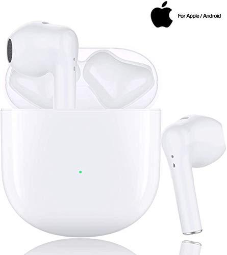 Auriculares inalámbricos Bluetooth 5.0, micrófono Incorporado y Caja de Carga, reducción de Ruido estéreo 3D HD, adecuados para Auriculares Android/iPhone/Samsung/Huawei