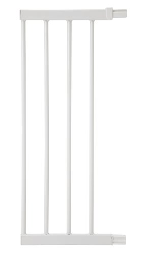 Safety 1st 24304310 Extensión para Easy Close Metal y Auto Close, Extensión de 28 cm para barrera de seguridad metálica, color blanco - 28 cm