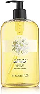 The Body Shop Moringa Shower Gel 750ml - Cleanse and develop your skin in softness.