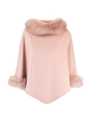 Max Mara Luxury Fashion Damen WSKIT110888002 Rosa Kaschmir Poncho | Herbst Winter 20