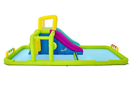 Bestway BW53387GB H2OGO Splash Course Mega Park, Inflatable Water Slide for Kids