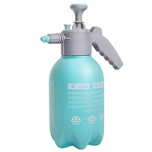 viajede viajeRiego regadera jardinería pulverizador neumático botella de spray transparente 2L-2L Pino Verde Regadera