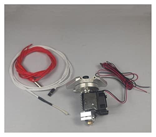 Huhu 1set* Auminum Hit End Effector +V6 Hotend Kit/set104GT-2 Thermistor 1.75/3 Mm Fit For Reprap Kossel Rostock 3D Printer