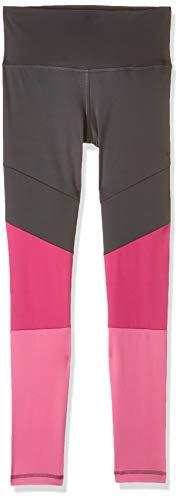 adidas YG TR BLD HR T Pantalones, Niñas, Grey Six/Semi Solar Pink/White, 1415