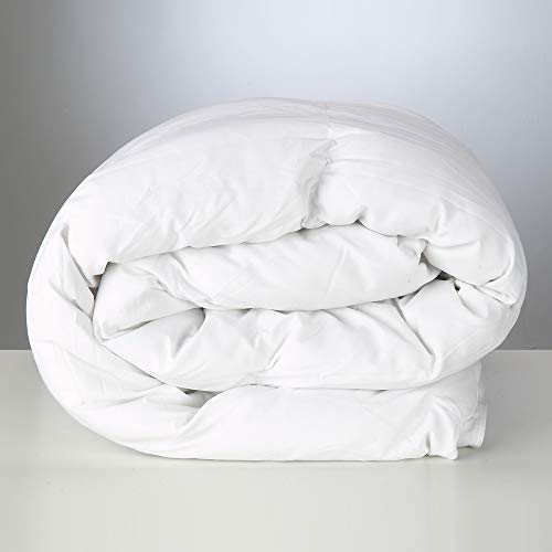 Polycotton Polyester Hollowfibre Duvet, 10.5 Tog, Single