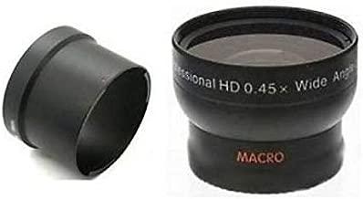 + Lens Adapter Nwv Direct Microfiber Cleaning Cloth. Canon Powershot G15 Pro Digital Lens Hood 58mm Flower Design