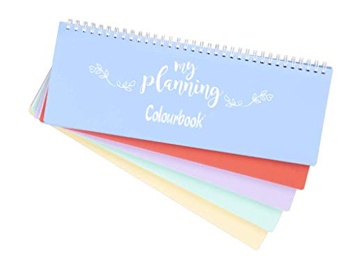 Agenda My Planning Colourbook 29x13cm Selezione Cartoleria Varzi dal 1956 Colori assortiti
