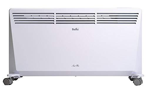 Ballu HM2000 Convettore elettrico 2000W a basso consumo da 25 a 41 mq in base a isolamento termico, Bianco