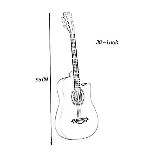 BAIYING Guitarra Acústica Principiante Clásica Estudiante Práctica ...