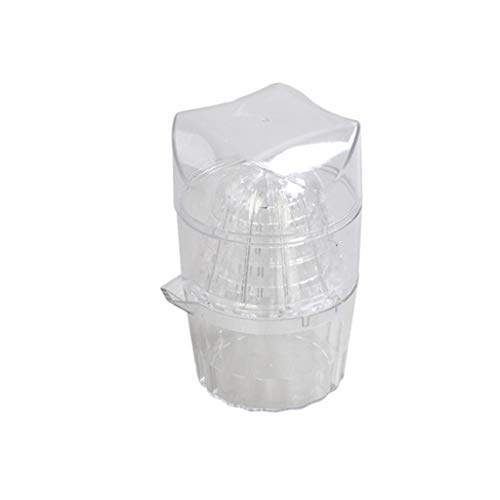 Sulifor Transparenter Entsafter Zitronenpresse für den täglichen Gebrauch, Mini-Fruchtsaftpresse-Haushaltsmixer Orangen-Gemüse-Karotten-Mango-Entsafter