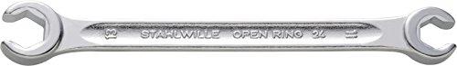 Stahlwille 24 11 X 13 24 Clé polygonale double, 11 x 13 mm ouvert, Argent