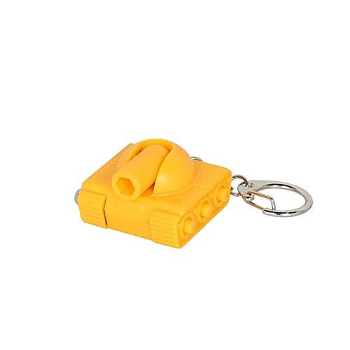 """ダルトン Tool key chain """"Tank"""" K825-1065 ツール キーホルダー イエロー"""