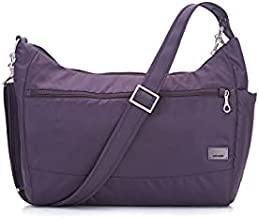 Pacsafe Women's Citysafe CS200 Anti-theft Handbag-Mulberry, One Size