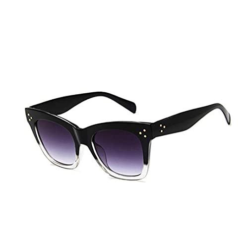 IRCATH Gafas de Sol Plaza Fashion Gafas de Sol Gafas de Gato Gafas de Sol Gafas de Sol para Mujer UV400 Apto para Golf, Ciclismo, Gafas de Sol de Pesca-8 Adecuado para Conducir en la Playa y Practica