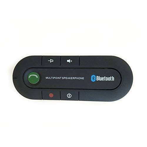 Bluetooth Aux Draadloze Auto Kit Muziek Ontvanger 3.5mm Adapter Handsfree LED Auto AUX Luidspreker met USB Auto Oplader Voor Telefoon 6 7 Nieuwe