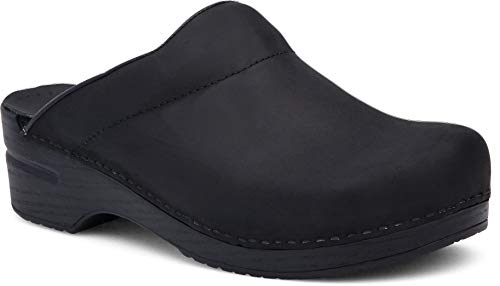Dansko Men's Karl Black Oiled Mule 10.5-11 M US