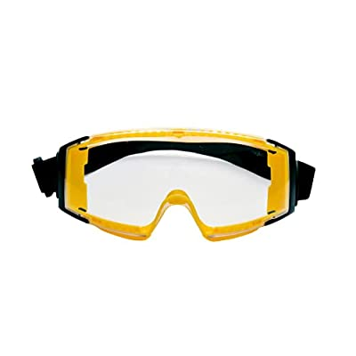 Amazon - 50% Off on Roar Clear Safety Goggles with Universal Fit Anti-Fog Lens Scratch Resistant lens
