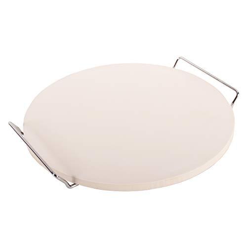 intergrill Premium Pizzastein 33 cm Ø x 1,5 cm Ofenstein Grill Ofen