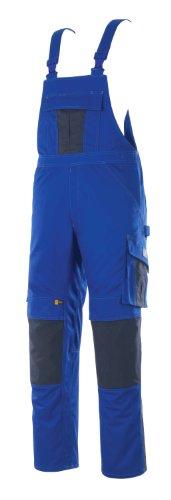Mascot Latzhose zweifarbig mit Kniepolstertaschen, Kornblau/Marine, 58
