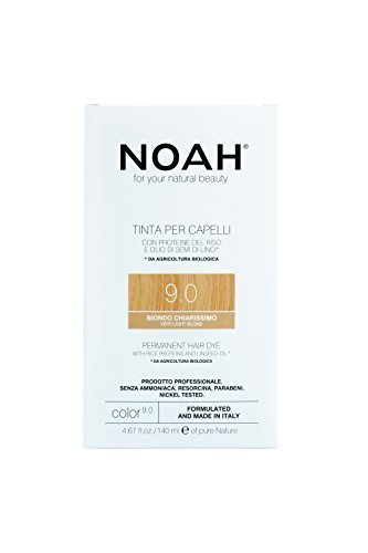 Noah Number 9.0 Hair Color Challenge Now on sale the lowest price Dye ml BLOND VERY LIGHT 140