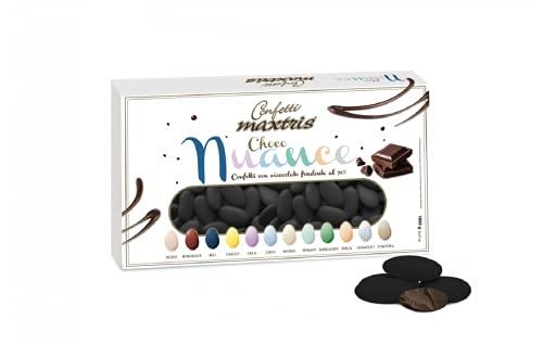Confetti Maxtris Choco Nuance Nero, Cioccolato