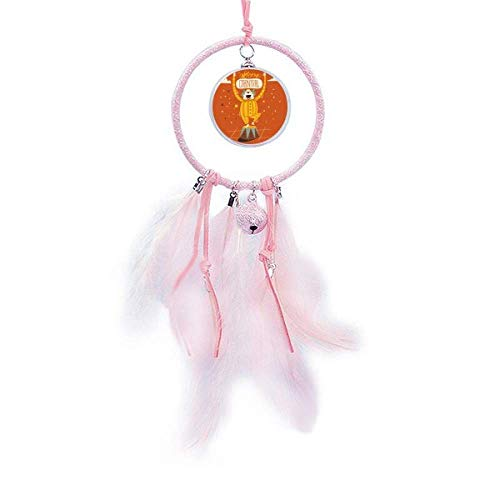 Clown Head Happy Carnival of Venice Dream Catcher Small Bell Bedroom Decor