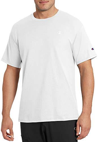 Champion Men's Classic Jersey T-Shirt, White, S