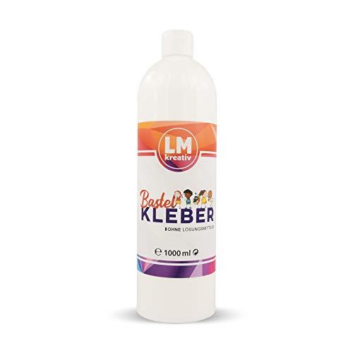 LM Bastelkleber - Weiß, Transparent auftrocknend - (1 Liter)