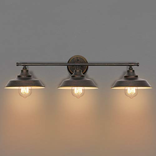 KingSo Bathroom Vanity Light 3 Light Wall Sconce Fixture...
