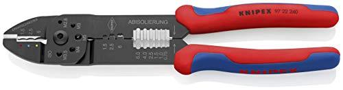 KNIPEX Alicate para crimpar terminales (240 mm) 97 22 240