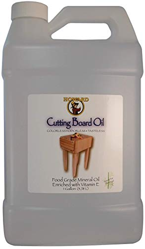 HOWARDS PRODUCTS STORE BBB128 Cutting Board Oil, 1 Gallon, Clear