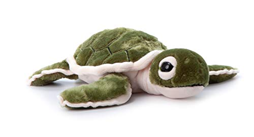 The Petting Zoo, Hatchling Sea Turtle Stuffed Animal, Gifts for Kids, Baby Sea Turtle Plush Toy 12 inches