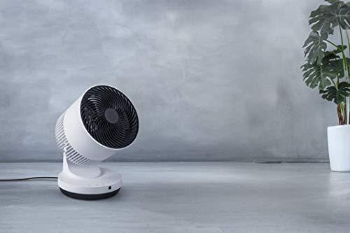 スリーアップ衣類乾燥機能付3Dサーキュレーター「ヒート&クール」ホワイトHC-T1906WH