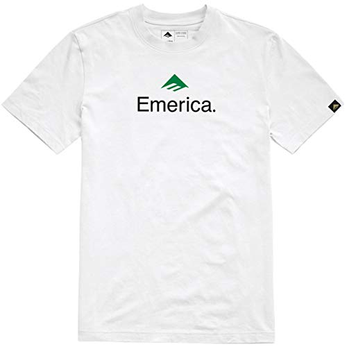 T-Shirt Emerica: Skateboard Logo WH M