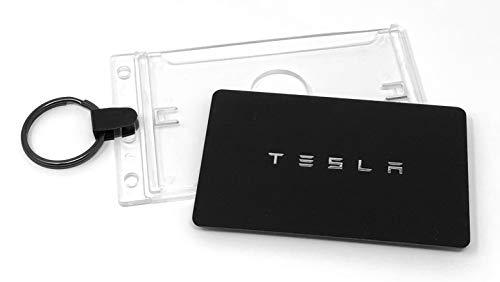 Tesla Model 3 Key Card Holder for Valet and Keychain