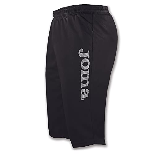 Joma Luxor Pantalones Cortos, Unisex Adulto, Negro, XXL