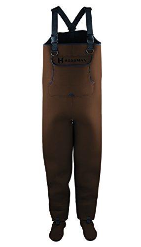 Hodgman Caster Neoprene Stocking Foot Brown, Large