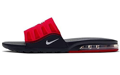 Nike Men's Air Max Camden Slide Black/University Red/Team Red/White BQ4626-002 (Size: 10)